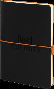 Sorrento Notebook - Orange