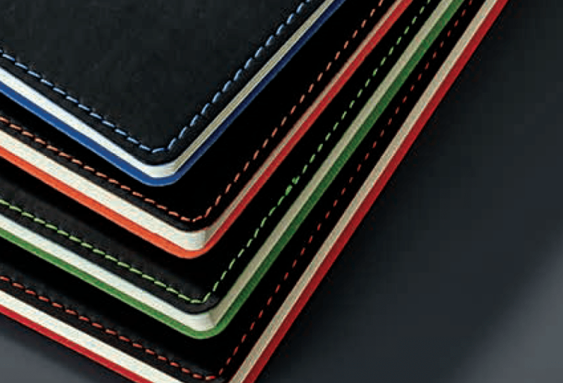 Group of Couture Notebooks showing colour range