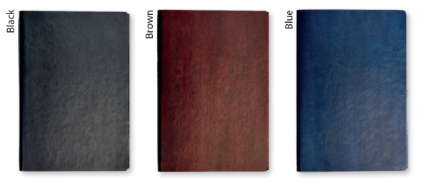 Vintage Notebook Colour OPtions