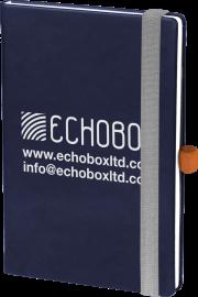 Imagine Notebook branded on ecolour