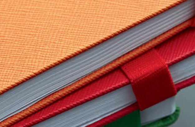 Denim Notebook Close up