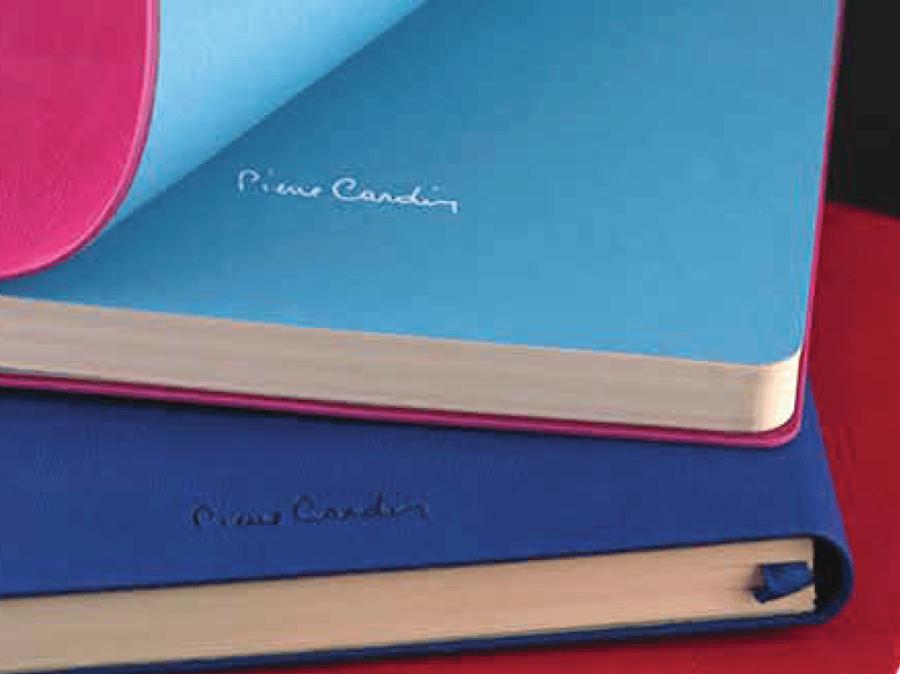 Soft Backed Pierre Cardin notebook