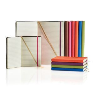 Promorional notebooks of differing size