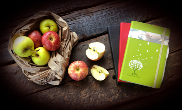 Eco freindly Appeel Notebook - styles